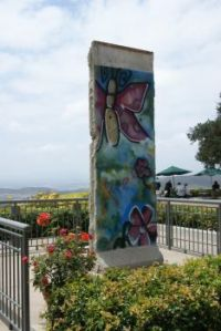 Section of the Berlin Wall at the Reagan Presidential Library