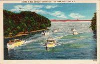 Vintage Postcard - Onondaga Lake Park, Syracuse NY