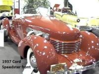 1937 Cord 812 Coffin Nose Boat tail Speedster