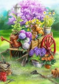 """Flowers On Wheels"""