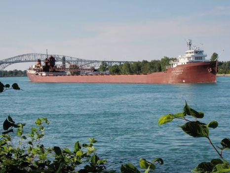 ST Clair river, Port Huron MI