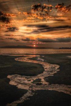 Troon Sunset, Scotland, UK