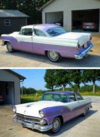 1955 Ford Fairlane Crown Victoria!    bandit