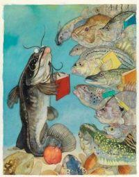 Fish School ~ Jerry Pinkney