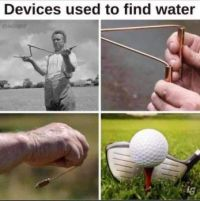 Methods to Find Water...