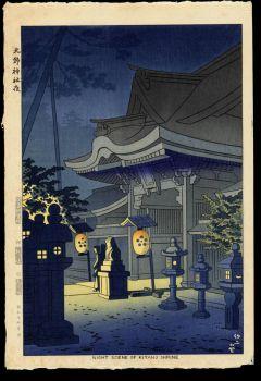 Night Scene of Kitano Shrine