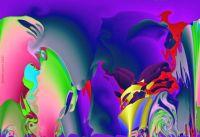Modified fractal landscape medium