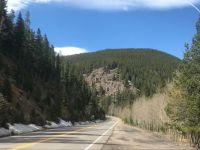 Driving to Arapahoe National Park, CO