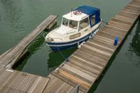 Berthed boat