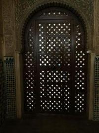 Door, Alhambra, Grenada, Spain