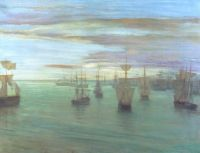 James Whistler: Crepuscule in Flesh Colour and Green: Valparaiso 1866