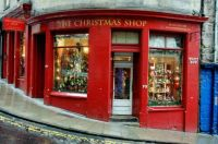 The Christmas Shop, Edinburgh