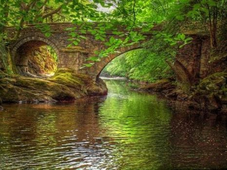 Denham Bridge, England