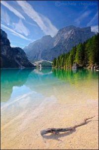 Dolomites Italy Lake Braies