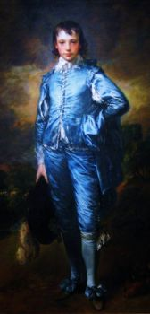 The Blue Boy, Thomas Gainsborough