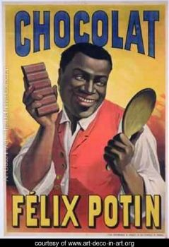 Vintage Ad  ~  Chocolate   by Felix Potin 1900