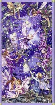 Vintage illustration  Fairies and Stars