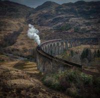 Scenic by Alec Scott  /  Glenfinnan Viaduct. Inverness-shire, Scotland