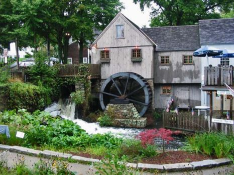 Old Mill, Plymouth Mass. USA