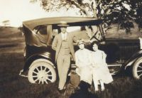 My Uncle, Garland Hill, and friends...San Saba, Texas