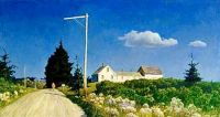 The Road to the Jones House, 1939, N. C. Wyeth (1882-1945)