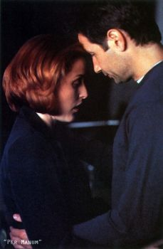 The X-Files: yes, even more Mulder and Scully cuddles. Why? Because Reasons.