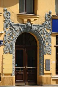 Doorway in Riga
