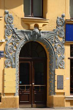 Doorway in Riga