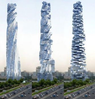 Design for the Dynamic Tower in Dubai, UAE