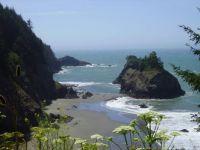 Washington or Oregon coast