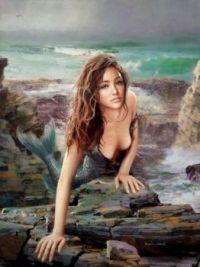 1  ~  'Washed ashore Mermaid'.
