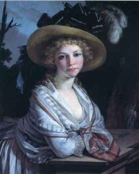 Prud'hon - portrait-of-a-young-woman