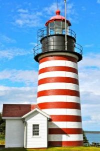West Quoddy Lighthouse -- Lubec, Maine....