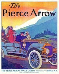 Vintage ad - Pierce Arrow