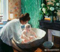 Boris Kustodiev Morning