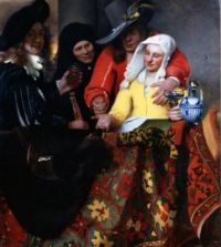 The Procuress by Johannes Vermeer