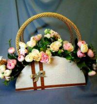 Цветы в подарок:)