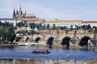 Prague. Hradcany and Charles Bridge