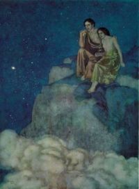 Edmund Dulac - Illustration For Edgar Allan Poe's Al Aaraaf