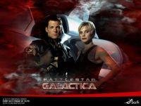 Starbuck & Apollo - Battlestar Galactica