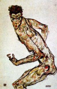 Egon Schiele Figure Drawing