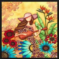 watercolor by Holly Kitaura