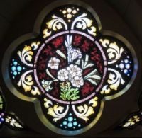 St. Mary of Elgin Stained Glass Window