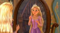 Rapunzel and crown