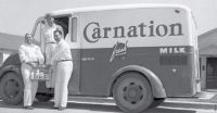 The Milkman and fresh milk delivered to your door- Life in America