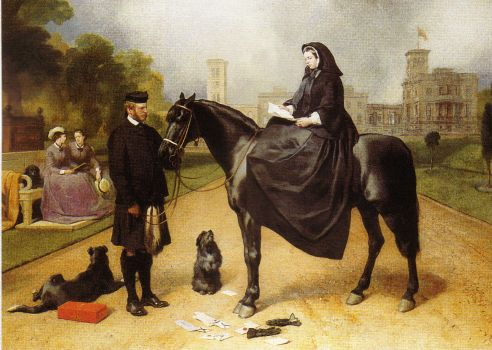Landseer - Queen Victoria at Osborn House