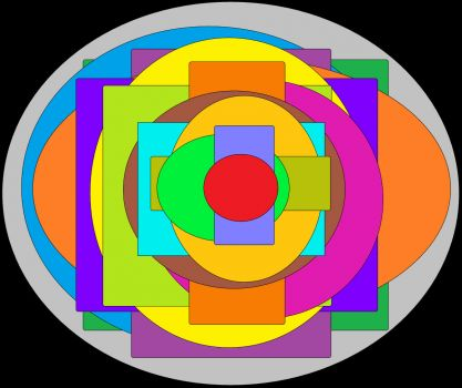 "Circle/Rectangle ""Swirl"" (Medium)"