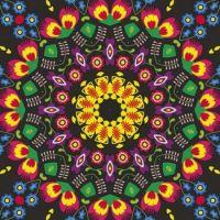 kaleidoscope 417 folk pattern medium