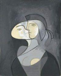 Pablo Picasso: María Teresa, rostro y perfil , 1931