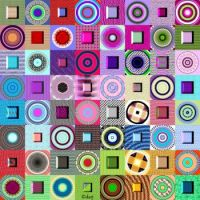 Potpourri337 - Circles and Squares - Large - rj